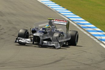 © 2012 Octane Photographic Ltd. German GP Hockenheim - Sunday 22nd July 2012 - F1 Race. Williams FW34 - Bruno Senna. Digital Ref : 0423lw1d4924