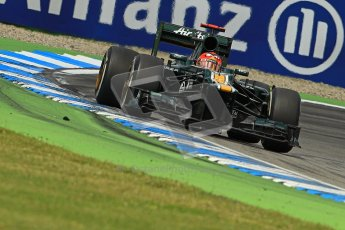 © 2012 Octane Photographic Ltd. German GP Hockenheim - Sunday 22nd July 2012 - F1 Race. Caterham CT01 - Heikki Kovalainen. Digital Ref : 0423lw1d5506