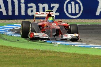 © 2012 Octane Photographic Ltd. German GP Hockenheim - Sunday 22nd July 2012 - F1 Race. Ferrari F2012 - Felipe Massa. Digital Ref : 0423lw1d5518