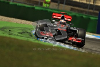 © 2012 Octane Photographic Ltd. German GP Hockenheim - Sunday 22nd July 2012 - F1 Race. McLaren MP4/27 - Jenson Button. Digital Ref : 0423lw1d5559