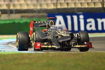 © 2012 Octane Photographic Ltd. German GP Hockenheim - Sunday 22nd July 2012 - F1 Race. Lotus E20 - Kimi Raikkonen. Digital Ref : 0423lw1d5581