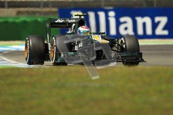 © 2012 Octane Photographic Ltd. German GP Hockenheim - Sunday 22nd July 2012 - F1 Race. Caterham CT01 - Vitaly Petrov. Digital Ref : 0423lw1d5628