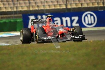© 2012 Octane Photographic Ltd. German GP Hockenheim - Sunday 22nd July 2012 - F1 Race. Marussia MR01 - Charles Pic. Digital Ref : 0423lw1d5652