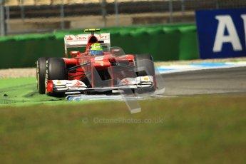 © 2012 Octane Photographic Ltd. German GP Hockenheim - Sunday 22nd July 2012 - F1 Race. Ferrari F2012 - Felipe Massa. Digital Ref : 0423lw1d5676