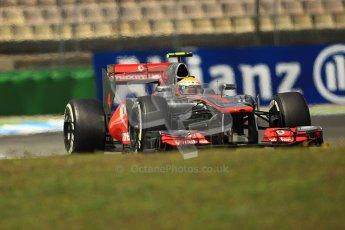 © 2012 Octane Photographic Ltd. German GP Hockenheim - Sunday 22nd July 2012 - F1 Race. McLaren MP4/27 - Lewis Hamilton. Digital Ref : 0423lw1d5692