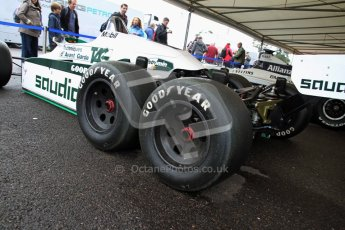 © 2012 Octane Photographic Ltd/ Carl Jones. Williams FW08B, Goodwood Festival of Speed, Historic F1. Digital Ref: 0388CJ7D5805
