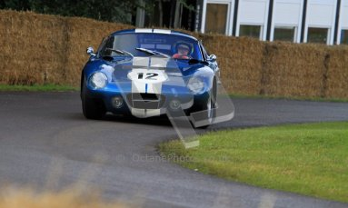 © 2012 Octane Photographic Ltd/ Carl Jones. Kenny Brack, Goodwood Festival of Speed. Digital Ref: 0388CJ7D5960