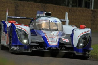 © 2012 Octane Photographic Ltd/ Carl Jones. Toyota TS030, Goodwood Festival of Speed. Digital Ref: 0388CJ7D6263