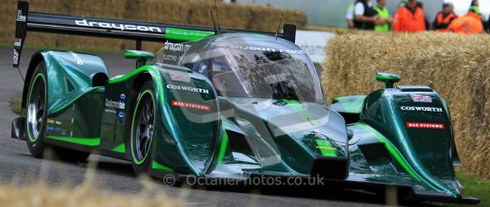 © 2012 Octane Photographic Ltd/ Carl Jones. Drayson Lola, Electric LMP2 Car, Goodwood Festival of Speed. Digital Ref: 0388CJ7D6275