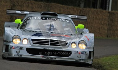 © 2012 Octane Photographic Ltd/ Carl Jones. Mercedes CLR GT1, Goodwood Festival of Speed. Digital Ref: 0388CJ7D6315