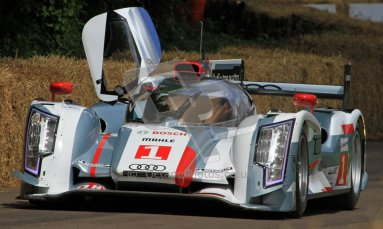 © 2012 Octane Photographic Ltd/ Carl Jones. Audi R18 e-tron quattro, Goodwood Festival of Speed. Digital Ref: 0388CJ7D6466