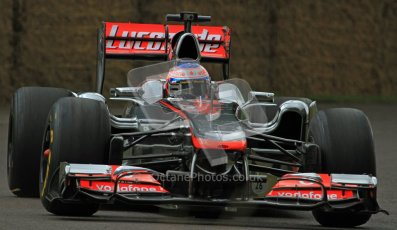 © 2012 Octane Photographic Ltd/ Carl Jones. Jenson Button, McLaren MP4-26, Goodwood Festival of Speed. Digital Ref: 0388CJ7D6524
