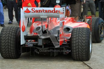 © 2012 Octane Photographic Ltd/ Carl Jones. Marc Gene, Ferrari F10, Goodwood Festival of Speed. Digital Ref: 0388cj7d6603