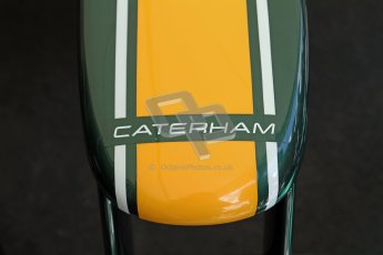 © 2012 Octane Photographic Ltd/ Carl Jones. Caterham F1 Car, Goodwood Festival of Speed. Digital Ref: 0388CJ7D6675