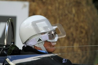 © 2012 Octane Photographic Ltd/ Carl Jones. Sir Stirling Moss, Goodwood Festival of Speed. Digital Ref: 0388cj7d6773