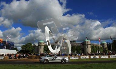 © 2012 Octane Photographic Ltd/ Carl Jones. Formula 1 Safety Car, Goodwood Festival of Speed. Digital Ref: 0389cj7d6923
