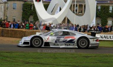 © 2012 Octane Photographic Ltd/ Carl Jones. Mercedes CLR GT1, Goodwood Festival of Speed. Digital Ref: 0389cj7d7140
