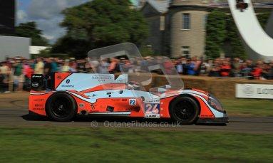 © 2012 Octane Photographic Ltd/ Carl Jones. Morgan Judd LMP 2, Goodwood Festival of Speed. Digital Ref: 0389cj7d7191