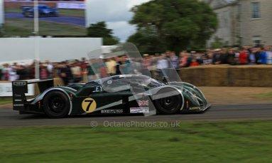 © 2012 Octane Photographic Ltd/ Carl Jones. Bentley EXP Speed 8, Goodwood Festival of Speed. Digital Ref: 0389cj7d7214