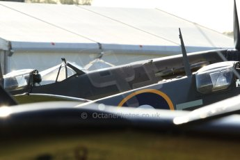 World © 2012 Octane Photographic Ltd. Goodwood Revival. September 15th 2012. Spitfire canopies. Digital Ref : 0521cb7d3372