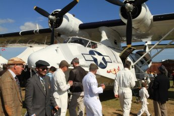 "© 2012 Octane Photographic Ltd. Goodwood Revival. September 15th 2012. Catalina ""Miss Pick Up"". Digital Ref : 0521cb7d3413"