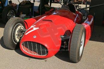 World © 2012 Octane Photographic Ltd. Goodwood Revival. September 15th 2012. Lancia D50 - Historic F1. Digital Ref : 0520cb1d9351