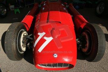 World © 2012 Octane Photographic Ltd. Goodwood Revival. September 15th 2012. Lancia D50 - Historic F1. Digital Ref : 0520cb1d9354