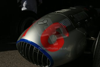 World © 2012 Octane Photographic Ltd. Goodwood Revival. Historic F1 Mercedes. September 15th 2012. Digital Ref : 0520cb1d9358