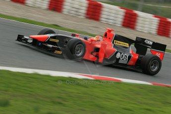 © Octane Photographic Ltd. GP2 Autumn Test – Circuit de Catalunya – Barcelona. Tuesday 30th October 2012 Afternoon session - Carlin - Felipe Nasr. Digital Ref : 0552cb1d6547