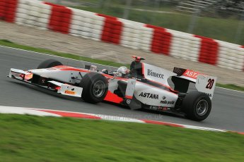 © Octane Photographic Ltd. GP2 Autumn Test – Circuit de Catalunya – Barcelona. Tuesday 30th October 2012 Afternoon session - Rapax - Daniel Juncadella. Digital Ref : 0552cb1d6549
