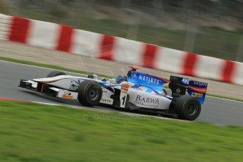 © Octane Photographic Ltd. GP2 Autumn Test – Circuit de Catalunya – Barcelona. Tuesday 30th October 2012 Afternoon session - Barwa Addax Team - Mike Rosenzweig. Digital Ref : 0552cb1d6594
