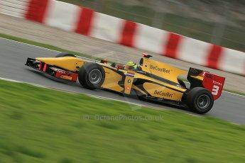 © Octane Photographic Ltd. GP2 Autumn Test – Circuit de Catalunya – Barcelona. Tuesday 30th October 2012 Afternoon session - Dams - Nigel Melker. Digital Ref : 0552cb1d6726