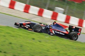 © Octane Photographic Ltd. GP2 Autumn Test – Circuit de Catalunya – Barcelona. Tuesday 30th October 2012 Afternoon session - iSport International - Facundo Regalia. Digital Ref : 0552cb1d6764