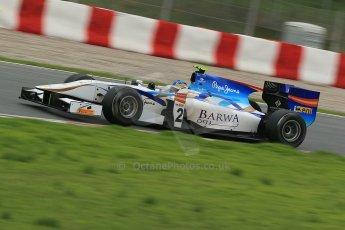 © Octane Photographic Ltd. GP2 Autumn Test – Circuit de Catalunya – Barcelona. Tuesday 30th October 2012 Afternoon session - Barwa Addax Team - Adrian Quaife-Hobbs. Digital Ref : 0552cb1d6799