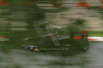 © Octane Photographic Ltd. GP2 Autumn Test – Circuit de Catalunya – Barcelona. Tuesday 30th October 2012 Afternoon session - Lotus GP - Stéphane Richelmi. Digital Ref : 0552cb1d6872