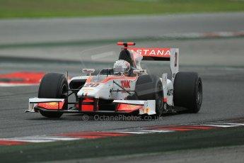 © Octane Photographic Ltd. GP2 Autumn Test – Circuit de Catalunya – Barcelona. Tuesday 30th October 2012 Afternoon session - Rapax - Daniel Juncadella. Digital Ref : 0552cb1d6951