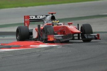 © Octane Photographic Ltd. GP2 Autumn Test – Circuit de Catalunya – Barcelona. Tuesday 30th October 2012 Afternoon session - Scuderia Coloni - Daniel de Jong. Digital Ref : 0552cb1d6961