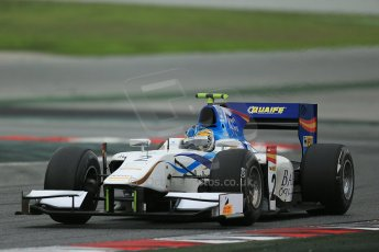 © Octane Photographic Ltd. GP2 Autumn Test – Circuit de Catalunya – Barcelona. Tuesday 30th October 2012 Afternoon session - Barwa Addax Team - Adrian Quaife-Hobbs. Digital Ref : 0552cb1d7005