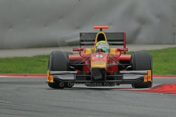 © Octane Photographic Ltd. GP2 Autumn Test – Circuit de Catalunya – Barcelona. Tuesday 30th October 2012 Afternoon session - Racing Engineering - Andre Negrao. Digital Ref : 0552cb1d7161