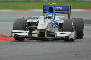 © Octane Photographic Ltd. GP2 Autumn Test – Circuit de Catalunya – Barcelona. Tuesday 30th October 2012 Afternoon session - Barwa Addax Team - Adrian Quaife-Hobbs. Digital Ref : 0552cb1d7181