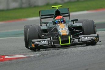 © Octane Photographic Ltd. GP2 Autumn Test – Circuit de Catalunya – Barcelona. Tuesday 30th October 2012 Afternoon session - Caterham Racing - Alexander Rossi. Digital Ref : 0552cb1d7200
