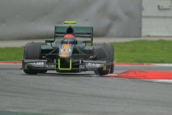 © Octane Photographic Ltd. GP2 Autumn Test – Circuit de Catalunya – Barcelona. Tuesday 30th October 2012 Afternoon session - Caterham Racing - Alexander Rossi. Digital Ref : 0552cb1d7337
