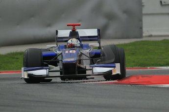 © Octane Photographic Ltd. GP2 Autumn Test – Circuit de Catalunya – Barcelona. Tuesday 30th October 2012 Afternoon session - Trident Racing - Marcus Ericsson. Digital Ref : 0552cb1d7345