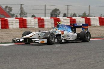© Octane Photographic Ltd. GP2 Autumn Test – Circuit de Catalunya – Barcelona. Tuesday 30th October 2012 Afternoon session - Barwa Addax Team - Adrian Quaife-Hobbs. Digital Ref : 0552lw7d0696