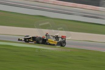 © Octane Photographic Ltd. GP2 Autumn Test – Circuit de Catalunya – Barcelona. Tuesday 30th October 2012 Afternoon session - Lotus GP - Daniel Abt. Digital Ref : 0552lw7d0733