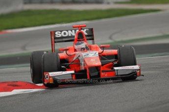 © Octane Photographic Ltd. GP2 Autumn Test – Circuit de Catalunya – Barcelona. Tuesday 30th October 2012 Afternoon session - Arden International - Simon Trummer. Digital Ref : 0552lw7d0791