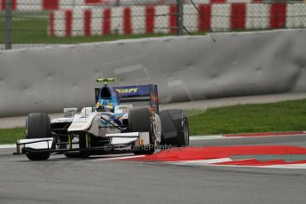 © Octane Photographic Ltd. GP2 Autumn Test – Circuit de Catalunya – Barcelona. Tuesday 30th October 2012 Afternoon session - Barwa Addax Team - Adrian Quaife-Hobbs. Digital Ref : 0552lw7d1005