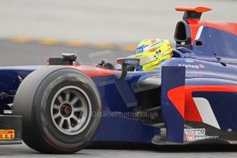 © Octane Photographic Ltd. GP2 Autumn Test – Circuit de Catalunya – Barcelona. Tuesday 30th October 2012 Afternoon session - iSport International - Pal Varhaug. Digital Ref : 0552lw7d1079