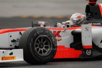 © Octane Photographic Ltd. GP2 Autumn Test – Circuit de Catalunya – Barcelona. Tuesday 30th October 2012 Afternoon session - Rapax - Daniel Juncadella. Digital Ref : 0552lw7d1107