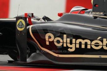 © Octane Photographic Ltd. GP2 Autumn Test – Circuit de Catalunya – Barcelona. Tuesday 30th October 2012 Afternoon session - Lotus GP - Stéphane Richelmi. Digital Ref : 0552lw7d1178